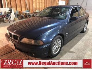 Used 2002 BMW 530 5 Series I 4D Sedan for sale in Calgary, AB