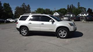 Used 2007 GMC Acadia SLT-2 AWD for sale in Innisfil, ON