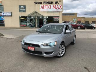 Used 2008 Mitsubishi Lancer DE CLEAN CLEAN CLEAN for sale in North York, ON
