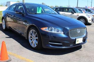 Used 2012 Jaguar XJ 3.99% OAC 5.0L V8 Navigation 19 inch wheels for sale in Oakville, ON