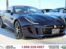 Used 2017 Jaguar F-Type R AWD - CPO 6yr/160000knms maufacturer warranty included until August 30, 2022! CPO rates starting at 2.9%! BRAND NEW CAR   LESS THAN 100 KMS   550 HORSEPOWER   SWITCHABLE ACTIVE SPORT EXHAUST   REVERSE TRAFFIC/BLIND SPOT/CLOSING VEHICLE SENSORS   BLUETOO for sale in Edmonton, AB