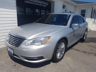 Used 2012 Chrysler 200 Limited with Leather for sale in Kingston, ON