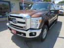 Used 2011 Ford F-250 3/4 TON WORK READY XLT MODEL 6 PASSENGER 6.2L - V8.. 4X4.. CREW.. SHORTY.. CD/AUX INPUT.. BACK-UP CAMERA.. POWER MIRRORS.. for sale in Bradford, ON