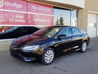 Used 2016 Chrysler 200 LX for sale in Edmonton, AB