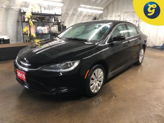Used 2015 Chrysler 200 LX * Push button ignition * U connect touchscreen * Keyless entry * Climate control * Passive entry * Phone connect * Voice recognition * Compass * St for sale in Cambridge, ON