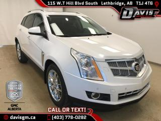 Used 2013 Cadillac SRX Performance-Heated Leather Seats, Ultraview Power Sunroof for sale in Lethbridge, AB