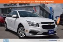 Used 2016 Chevrolet Cruze LT|Turbo Four Cylinder|Rear Camera! for sale in North York, ON