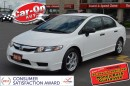 Used 2010 Honda Civic ONLY $38 bi-weekly for sale in Ottawa, ON