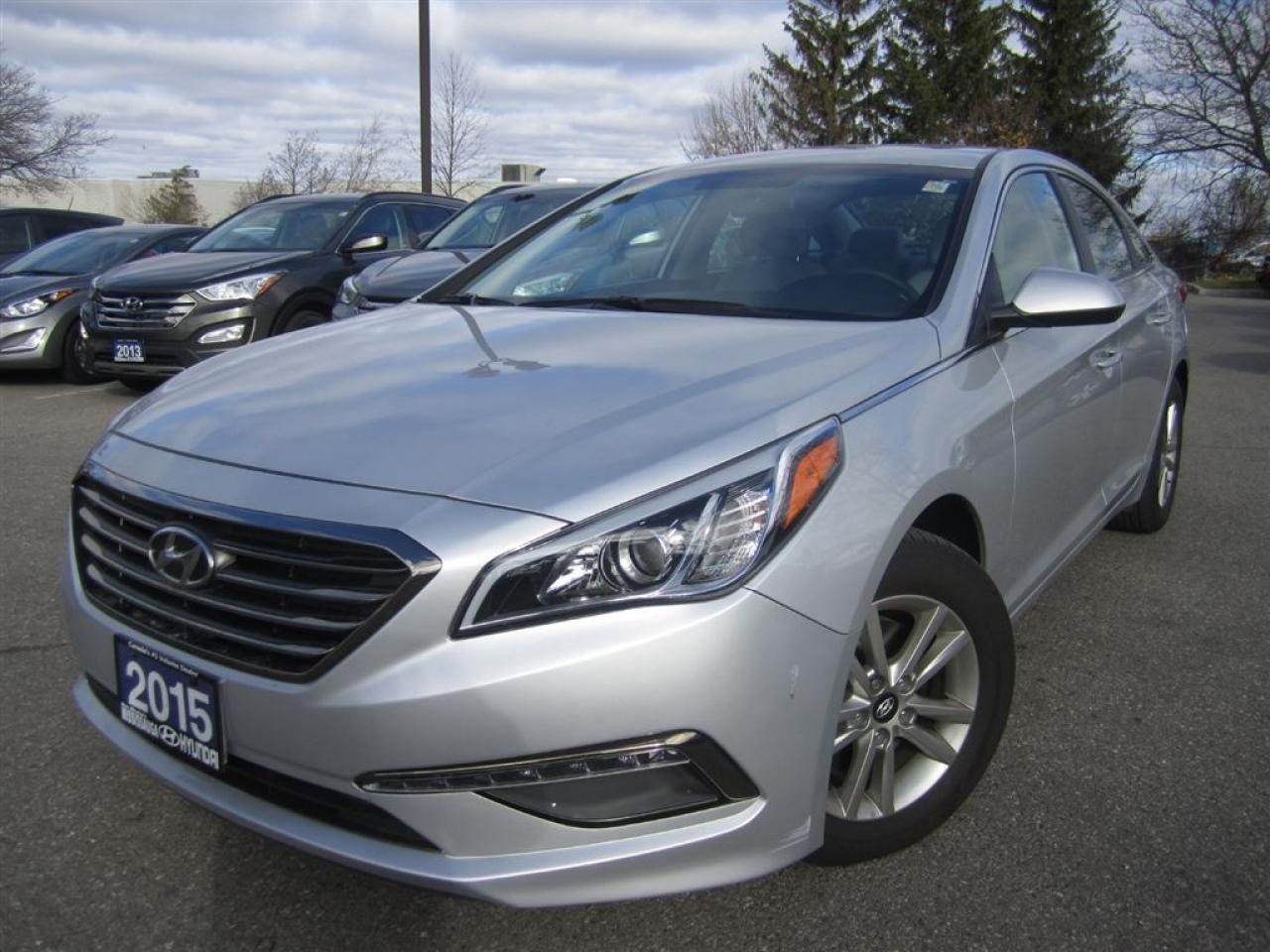 Photo of Silver 2015 Hyundai Sonata