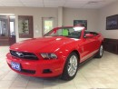 Used 2012 Ford Mustang V6 PREMIUM CONVERTIBLE LEATHER HEATED SEATS  $189. for sale in Picton, ON