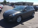 Used 2011 Mazda MAZDA3 Sport GT SPORT HATCH/LEATHER/SUNROOF LOW KMS! CALL BELLE for sale in Picton, ON