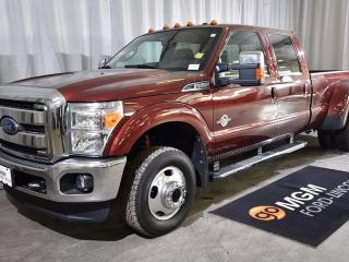 Used 2016 Ford F-350 Lariat 4x4 SD Crew Cab 8 ft. box 172 in. WB DRW for sale in Red Deer, AB