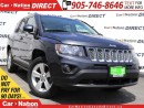 Used 2014 Jeep Compass North| LEATHER-TRIMMED SEATS| for sale in Burlington, ON