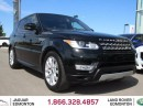 Used 2016 Land Rover Range Rover Sport V8 Supercharged - CPO 6yr/160000kms manufacturer warranty included until October 30, 2022! CPO rates starting at 2.9%! Local One Owner Driven | No Accidents | Exectuve Demo | 3M Protection Applied | 2 Sets of Rims and Tires Included | Navigation | B for sale in Edmonton, AB