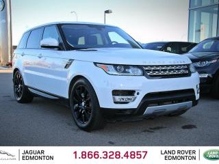 Used 2016 Land Rover Range Rover Sport HSE TD6 - CPO 6yr/160000kms manufacturer warranty included until Jan 2 2023! CPO rates starting at 2.9%! Locally Owned and Serviced | Executive Demo | Navigation | Back Up Camera | Parking Sensors | Reverse Traffic/Blind Spot/Closing Vehicle Sensors for sale in Edmonton, AB