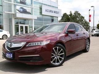 Used 2015 Acura TLX SH-AWD Tech for sale in London, ON