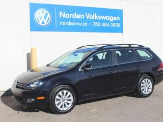 Used 2013 Volkswagen Golf Wagon 2.0 TURBO DIESEL COMFORTLINE - SUNROOF / HEATED SEATS for sale in Edmonton, AB