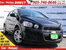 Used 2015 Chevrolet Sonic LT Auto| BACK UP CAMERA| TOUCH SCREEN| for sale in Burlington, ON
