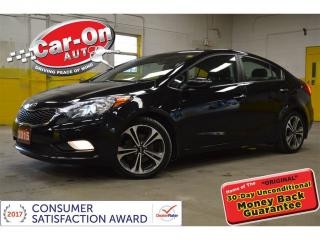 Used 2015 Kia Forte 2.0L SX NAVI SUNROOF LEATHER for sale in Ottawa, ON