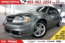 Used 2013 Dodge Avenger SXT| HEATED SEATS| 18in ALLOYS| SPOILER| FOGLIGHTS for sale in Mississauga, ON