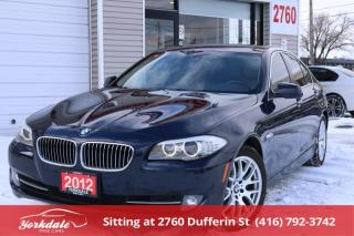 Used 2012 BMW 528 i xDrive Sport Pkg, Navigation, Leather, Roof for sale in Toronto, ON