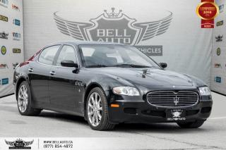 Used 2007 Maserati Quattroporte NO ACCIDENT, SENSORS, HEATED SEATS, SUNROOF, LEATHER for sale in Toronto, ON
