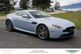 Used 2015 Aston Martin V8 Vantage Coupe Sportshift II Certified Pre-Owned! for sale in Vancouver, BC