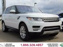 Used 2016 Land Rover Range Rover Sport V8 Supercharged - CPO 6yr/160000kms manufacturer warranty included until December 30, 2022! CPO rates starting at 2.9%! Local One Owner Vehicle | No Accidents | 3M Protection Applied | Navigation | Back Up Camera | Parking Sensors | Reverse Traffic/ for sale in Edmonton, AB