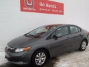 Used 2012 Honda Civic 4DOOR, LX, AUTO, AC, CRUISE for sale in Edmonton, AB