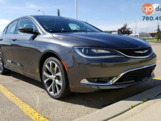 Used 2016 Chrysler 200 C / GPS Navigation / Panoramic Sunroof for sale in Edmonton, AB