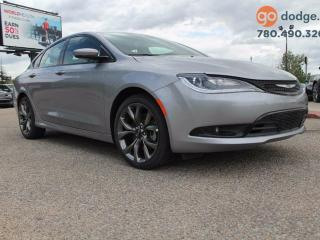 Used 2016 Chrysler 200 S / REAR BACK UP CAMERA / HEATED STEERING WHEEL / HEATED FRONT SEATS for sale in Edmonton, AB