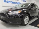Used 2016 Ford Focus SE hatch with a back up cam! Smooth and comfy ride for sale in Edmonton, AB