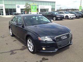 Used 2012 Audi A4 2.0T Prem Tiptronic qtro Sdn for sale in Calgary, AB