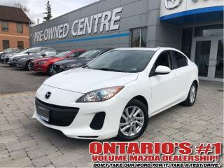 Used 2012 Mazda MAZDA3 GS-SKY/HEATED SEATS/SUNROOF ONLY 89,706 KMS!!! for sale in Toronto, ON