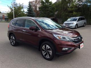 Used 2015 Honda CR-V Touring..Navigation..Loaded.. for sale in Milton, ON