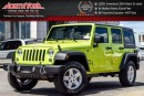 New 2016 Jeep Wrangler Unlimited New Car Sport 4x4|Manual|Dual Top,Power Convi.Pkgs|AC for sale in Thornhill, ON