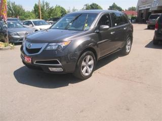 Used 2012 Acura MDX AWD 4dr for sale in Toronto, ON