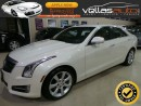 Used 2013 Cadillac ATS 2.0T**NAVI**6SPEED**PEARL WHITE** for sale in Woodbridge, ON