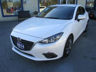 Used 2014 Mazda MAZDA3 LOADED 'TOURING - EDITION' 5 PASSENGER 2.0L - DOHC.. HEATED SEATS.. NAVIGATION.. BACK-UP CAMERA.. SKY-ACTIV PACKAGE.. for sale in Bradford, ON