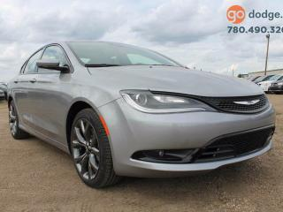 Used 2016 Chrysler 200 S / REAR BACK UP CAMERA / HEATED FRONT SEATS for sale in Edmonton, AB
