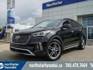 Used 2017 Hyundai Santa Fe XL ULTIMATE/ADAPTIVECRUISE/PANOROOF/NAV/COOLEDSEATS for sale in Edmonton, AB