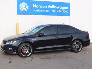Used 2016 Volkswagen Jetta GLI for sale in Edmonton, AB