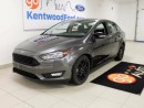 Used 2016 Ford Focus Slay in Gray! Focus with a back up camera! for sale in Edmonton, AB
