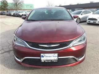 Used 2016 Chrysler 200 Limited  Bucket Seat  AC for sale in Concord, ON