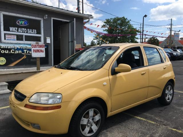 used 2006 chevrolet aveo ls for sale in brampton ontario. Black Bedroom Furniture Sets. Home Design Ideas