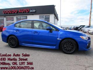 Used 2015 Subaru WRX STI Sport Camera Bluetooth Certified Warranty for sale in Milton, ON