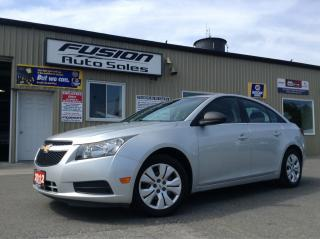 Used 2012 Chevrolet Cruze 1 OWNER OFF LEASE-MANUAL-52MPG for sale in Tilbury, ON