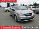New 2016 Dodge Grand Caravan SE/SXT for sale in Courtenay, BC