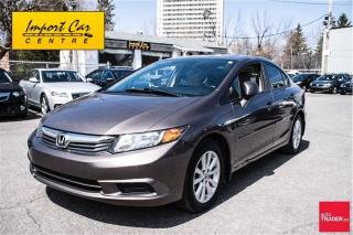 Used 2012 Honda Civic EX PRICE REDUCED!!  CALL. for sale in Ottawa, ON