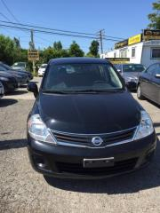 Used 2012 Nissan Versa FULLY CERTIFIED- UBER DRIVERS WELCOME ECONOMICAL for sale in Scarborough, ON